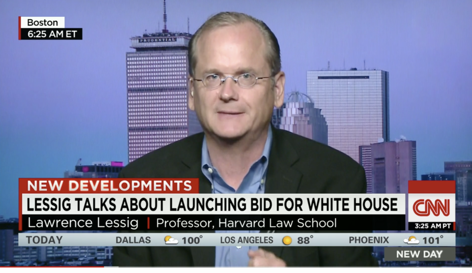 Who is Lawrence Lessig?