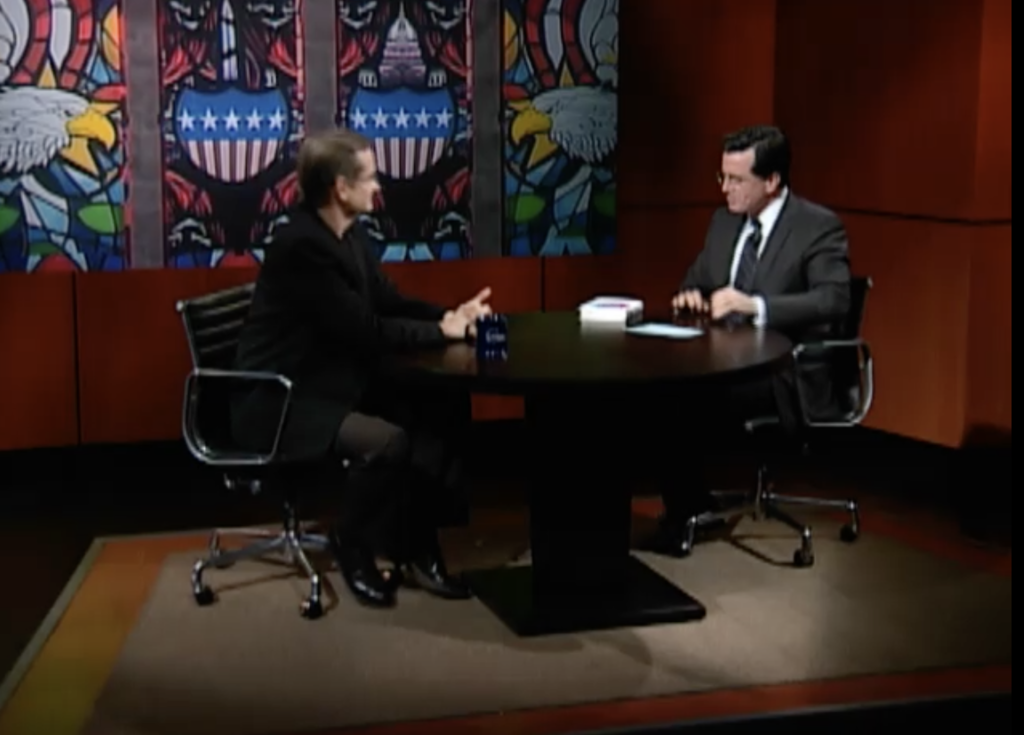 Remix on The Colbert Report